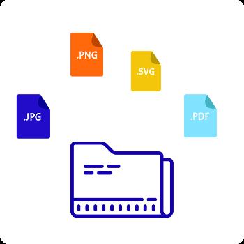 Multi logo file format JPEG,EPS,PNG,PDF