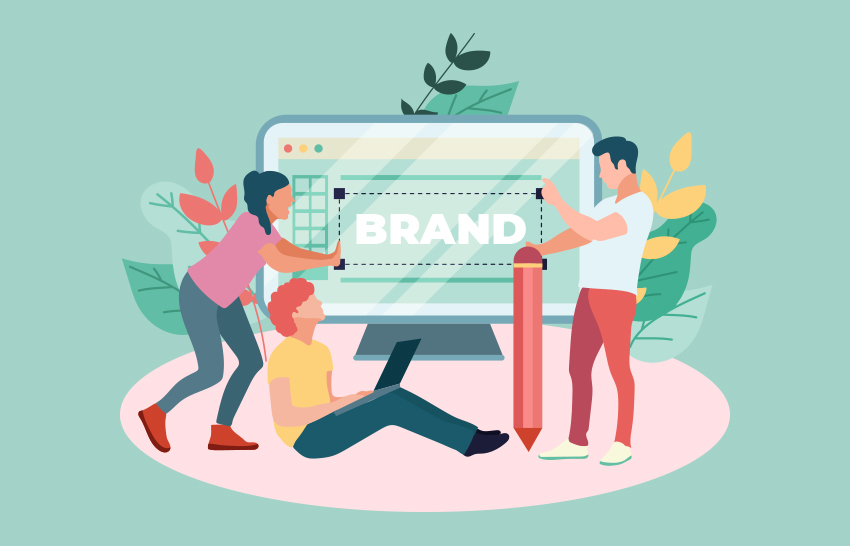 A logo builds brand identity
