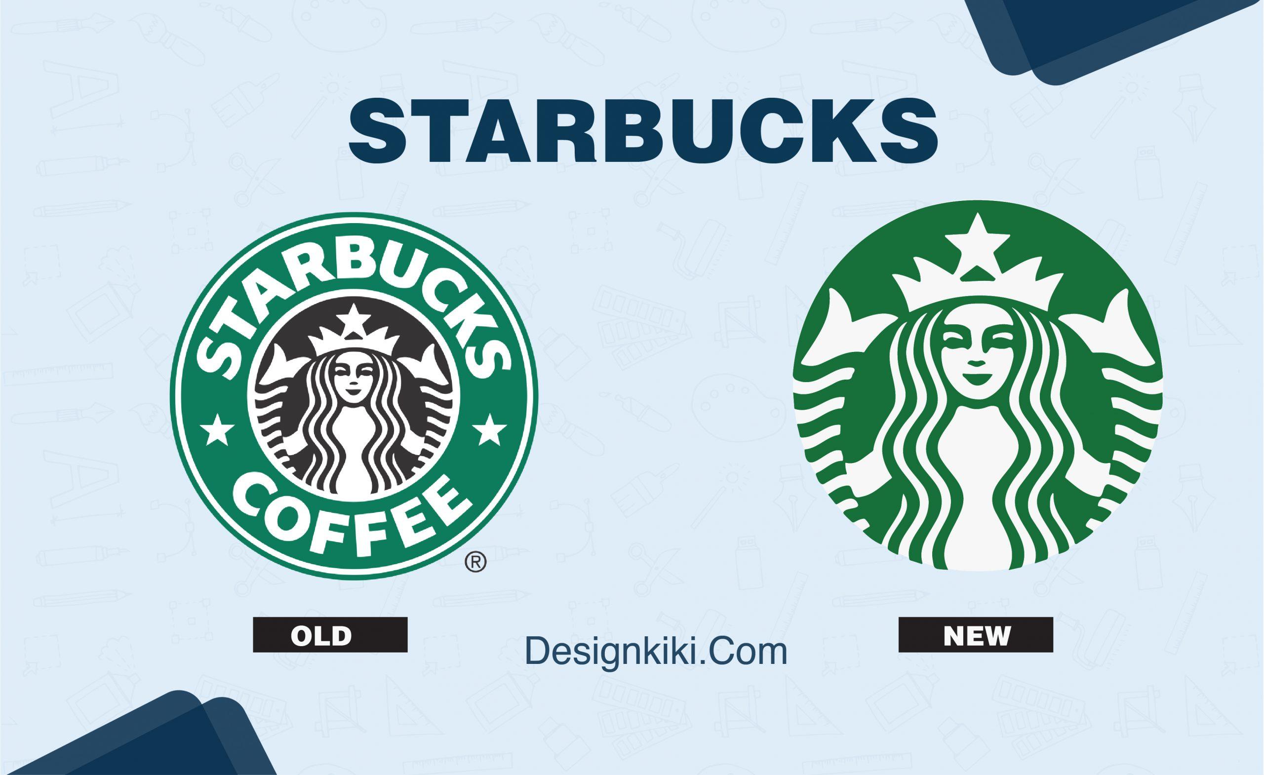 best logo redesigns- starbucks