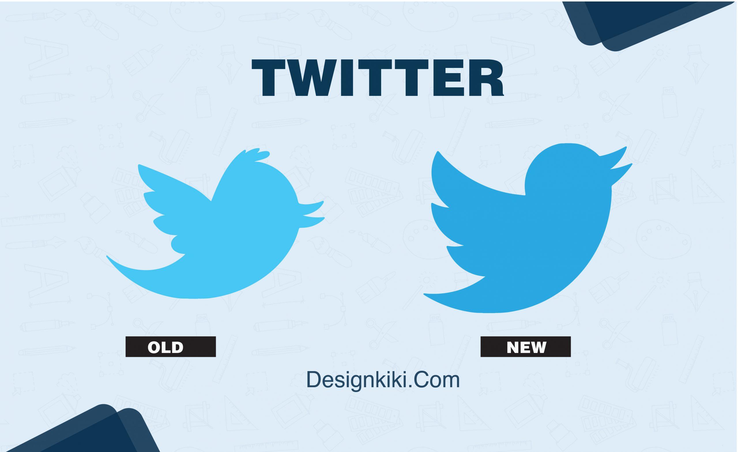 best logo redesigns- Twitter