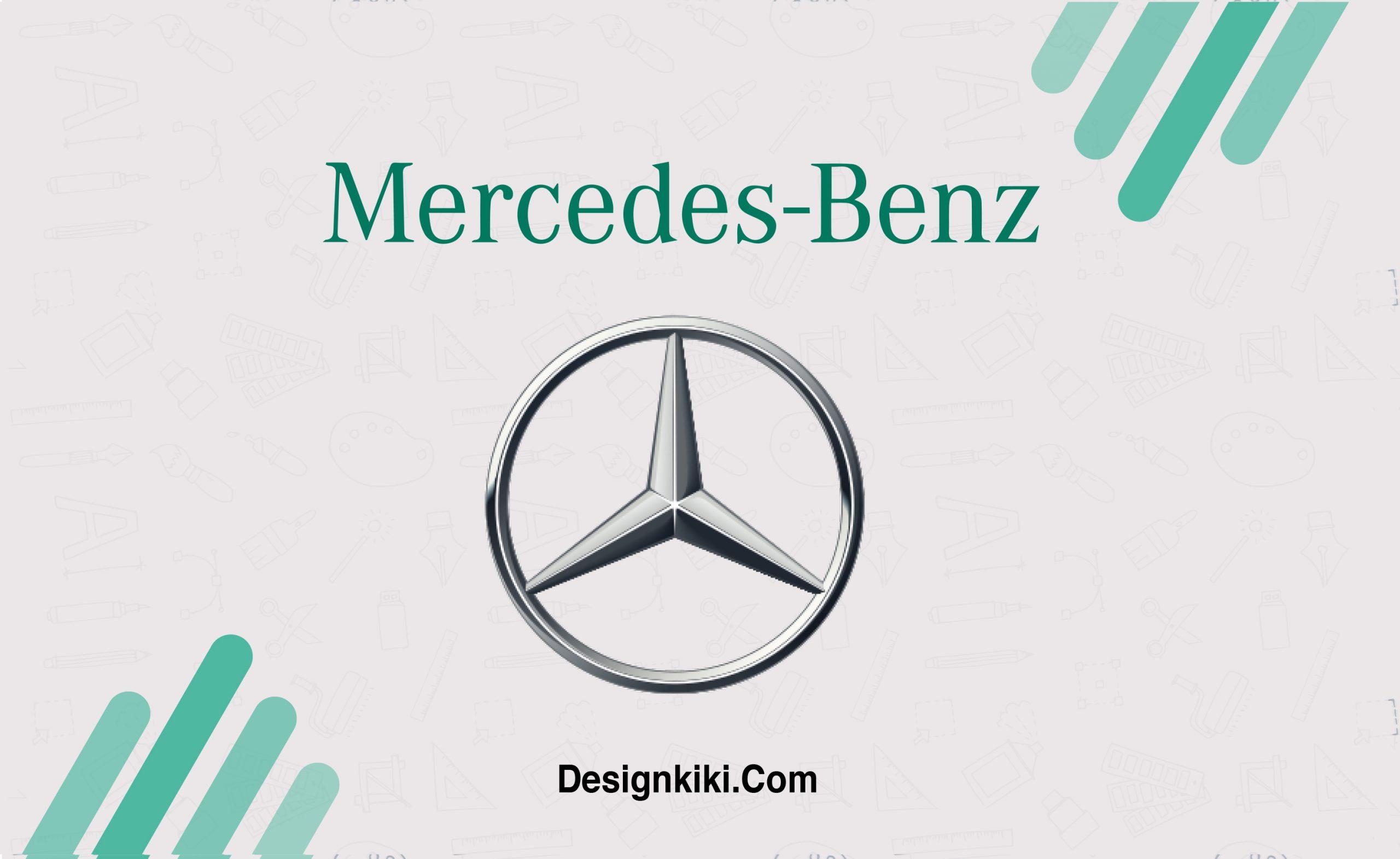 minimalistic logos- Mercedes