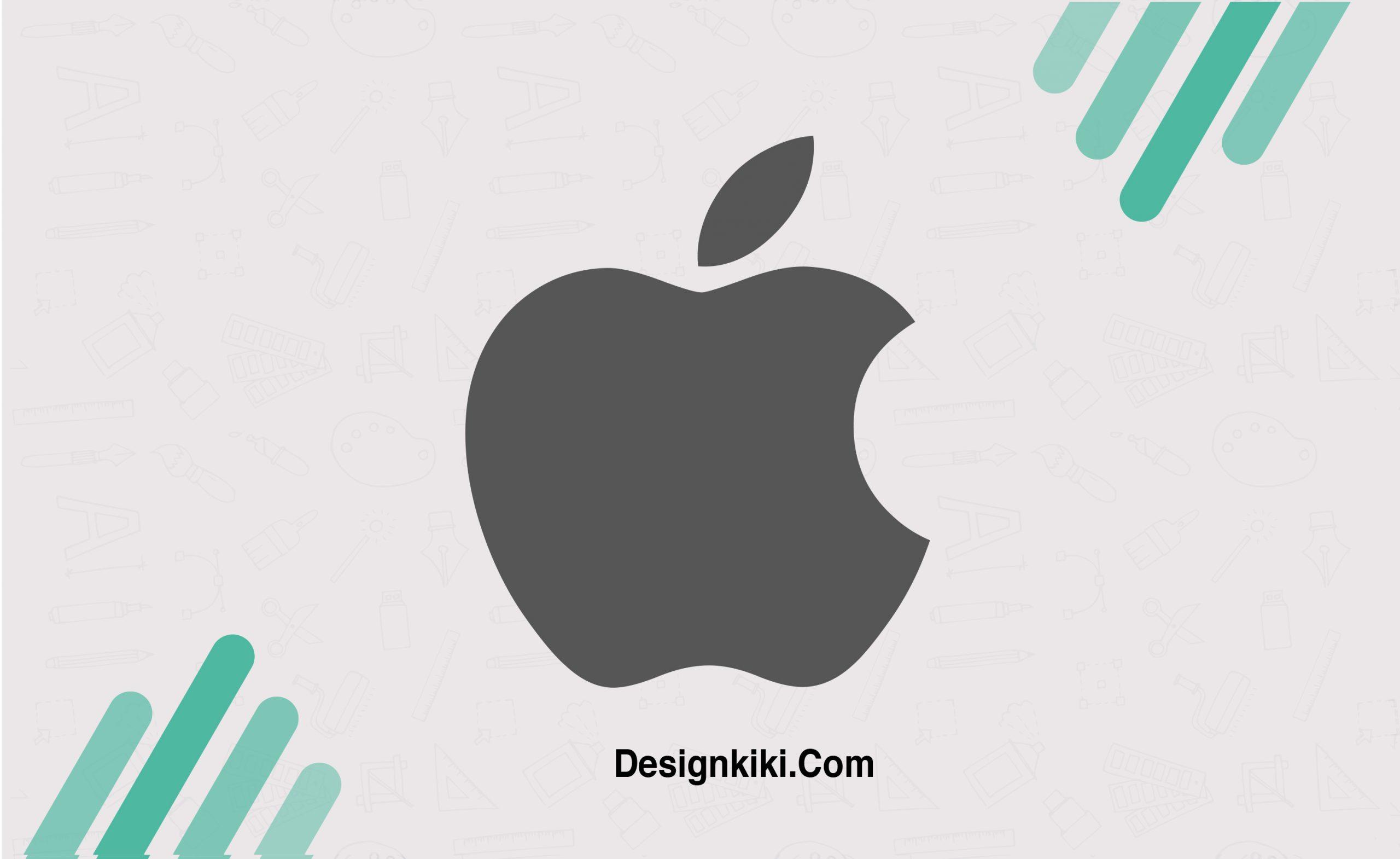 minimalistic logos- Apple