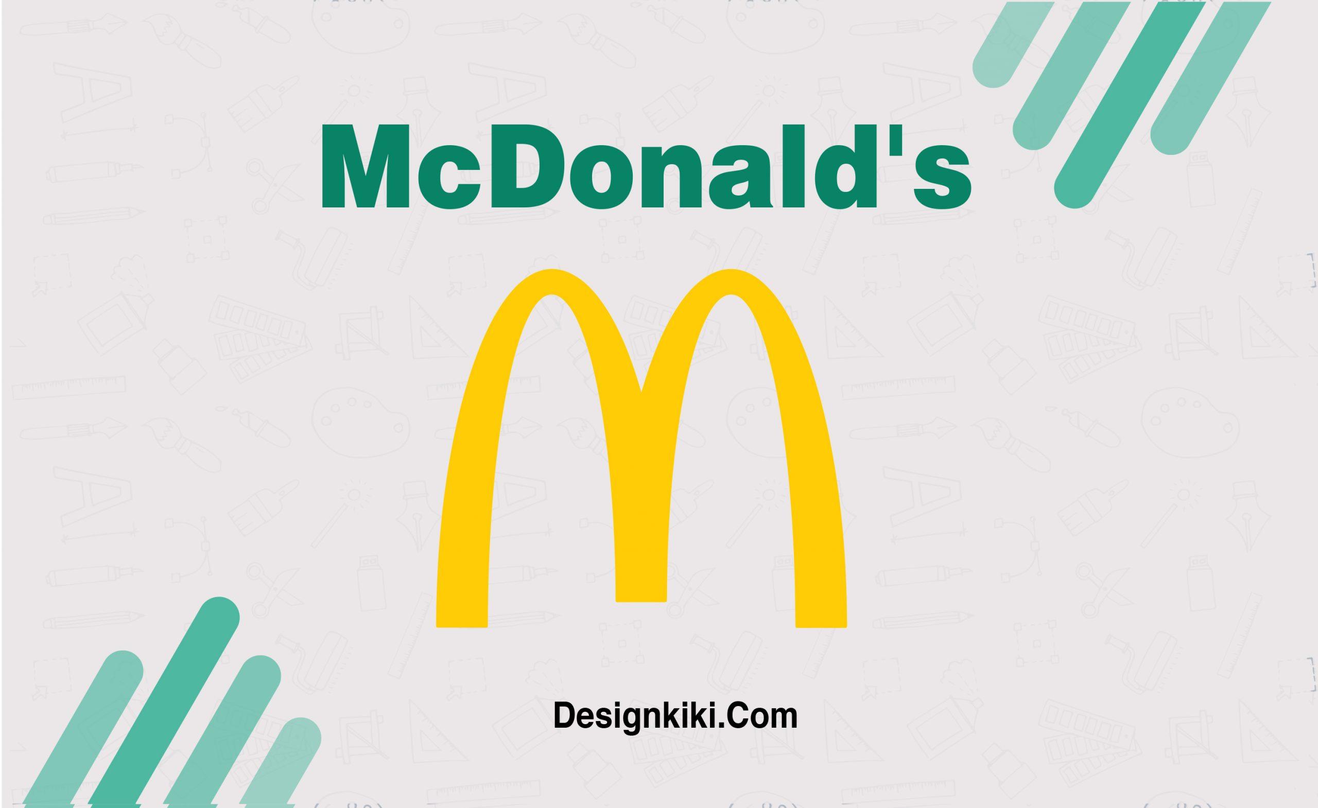 minimalistic logos- Mc Donald's