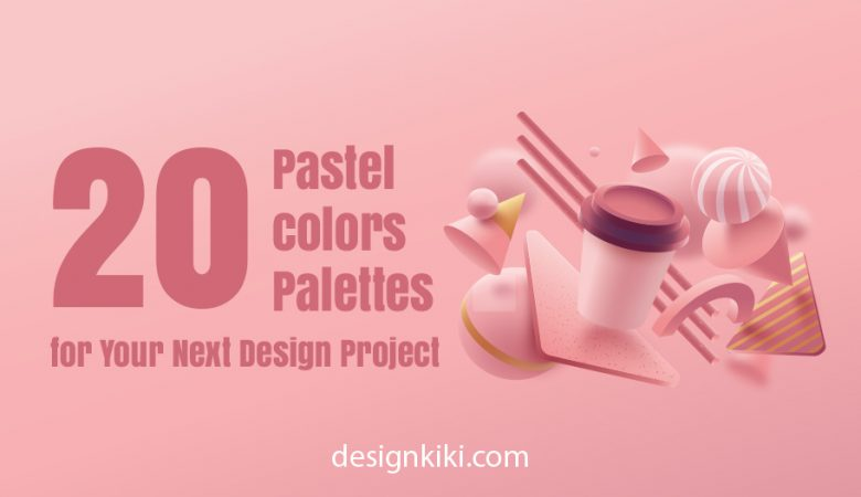 Explore the lattes pastel color palettes