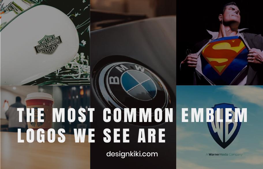 the most common emblem logos