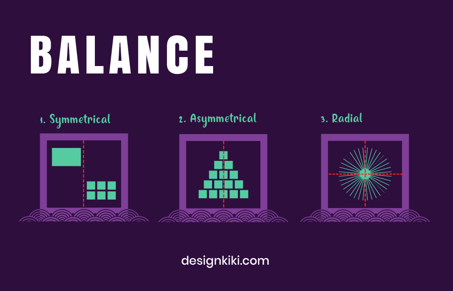 the first principle of design is balance