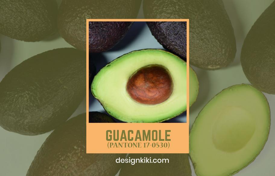 guacamole- pantone fall colors 2020
