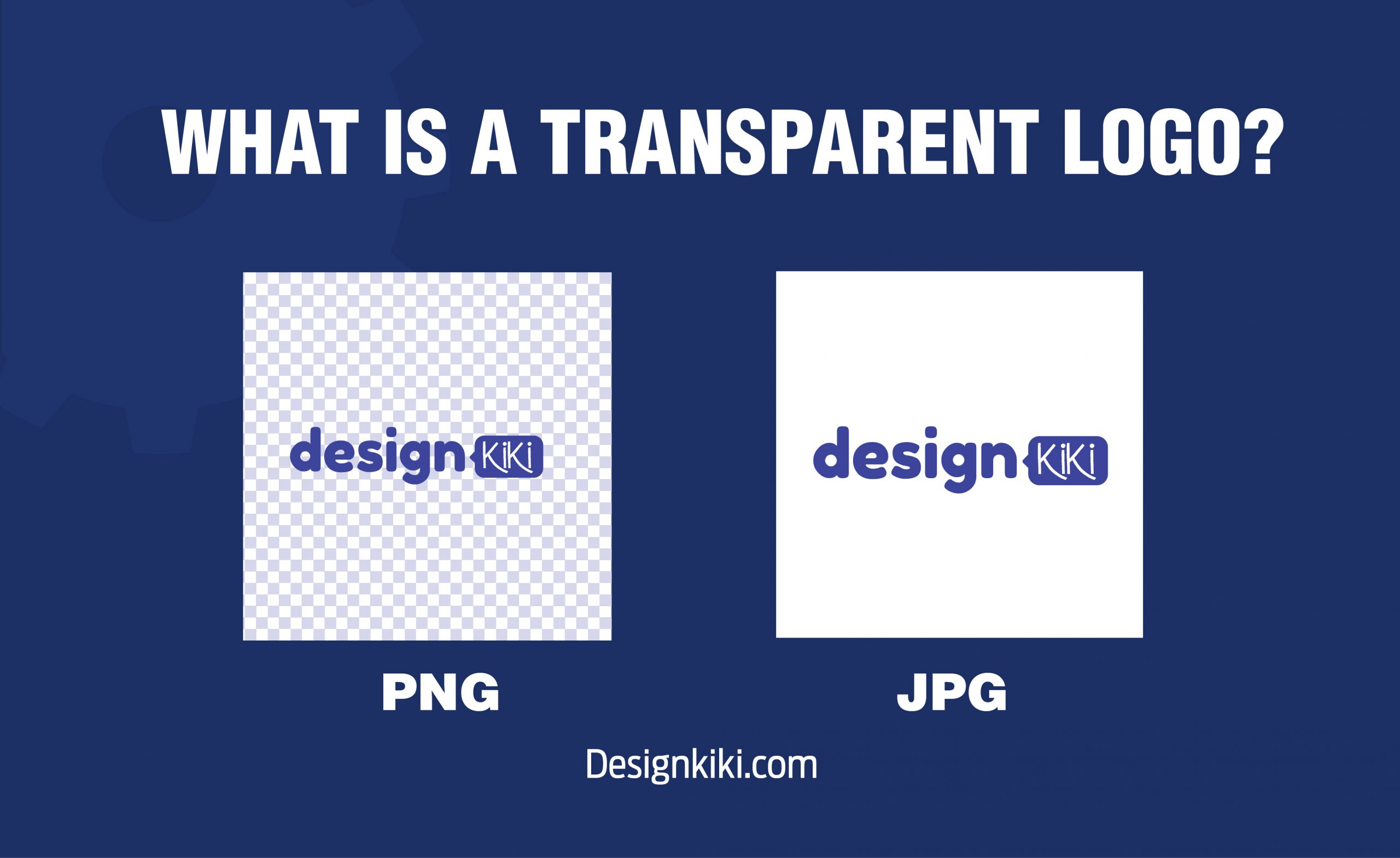 What is a transparent logo?