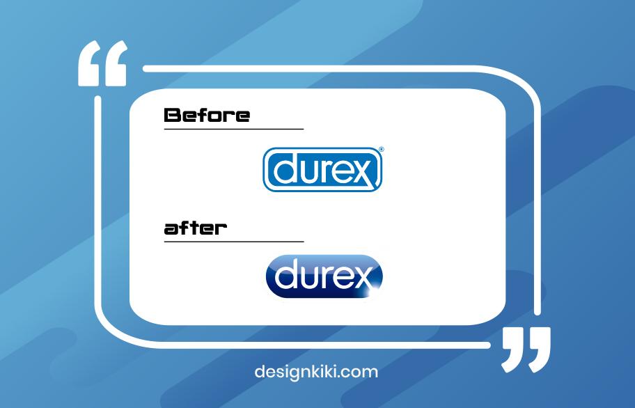 best logo redesign- durex
