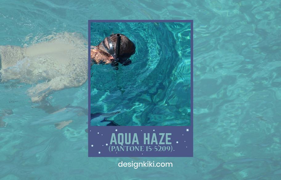 aqua haze- winter colors