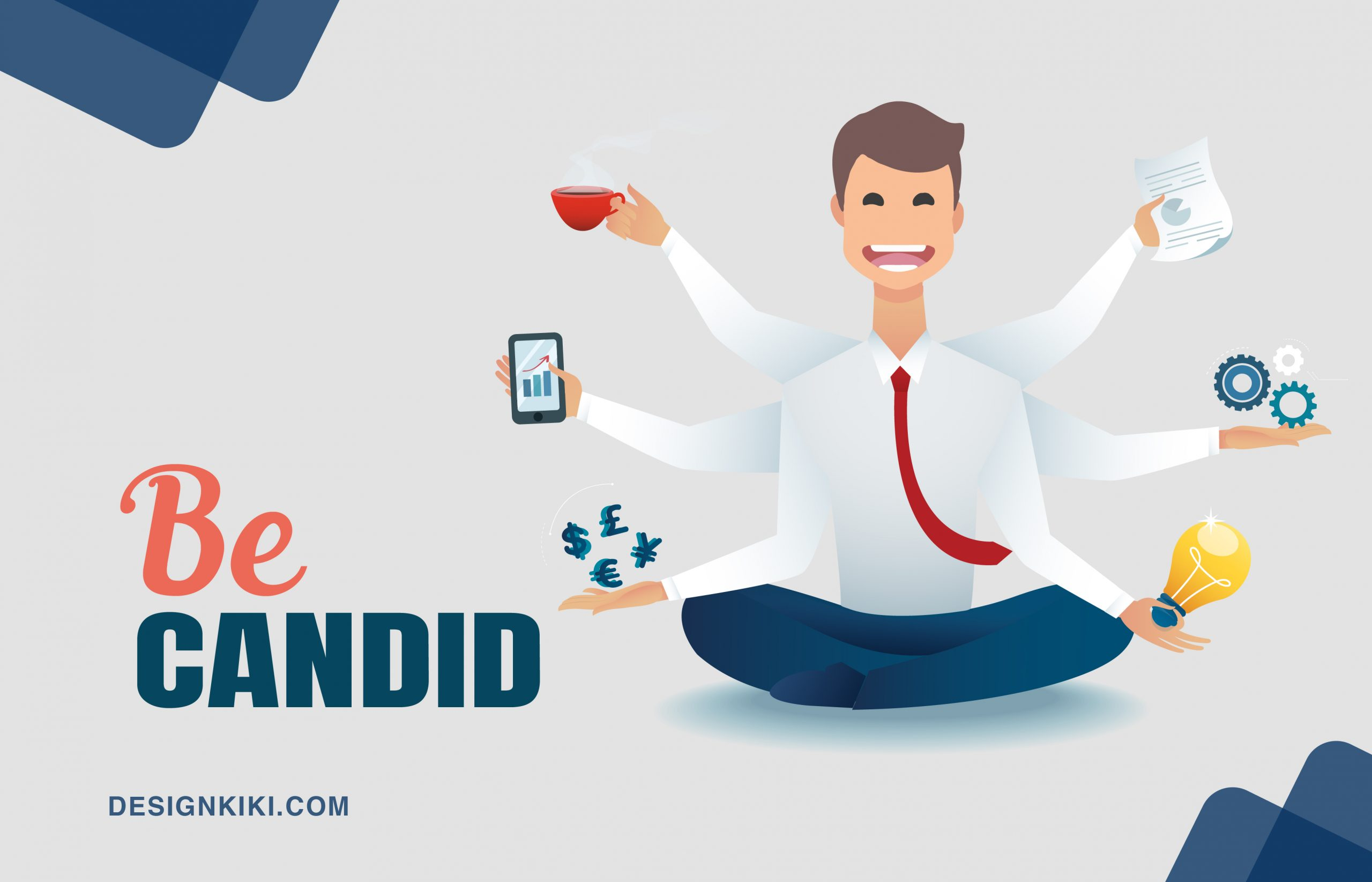 building a personal brand- be candid