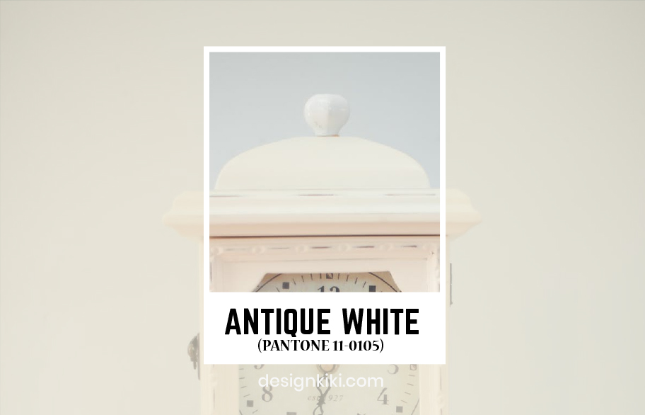 Antique white pantone