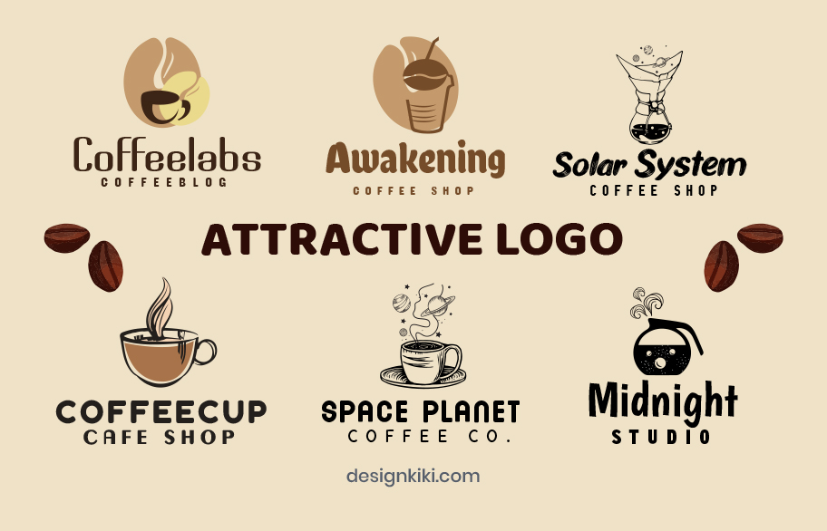 attractive logos for coffee shops