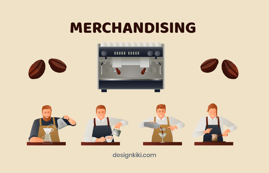 Merchandising for coffee shops