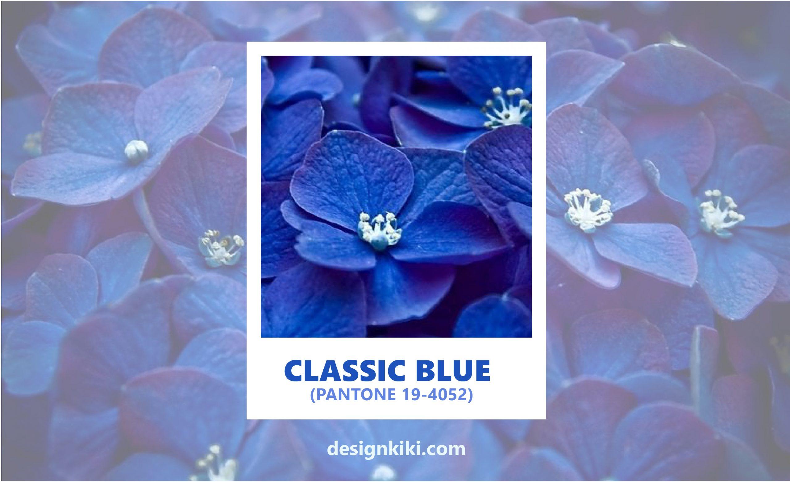 classic blue color