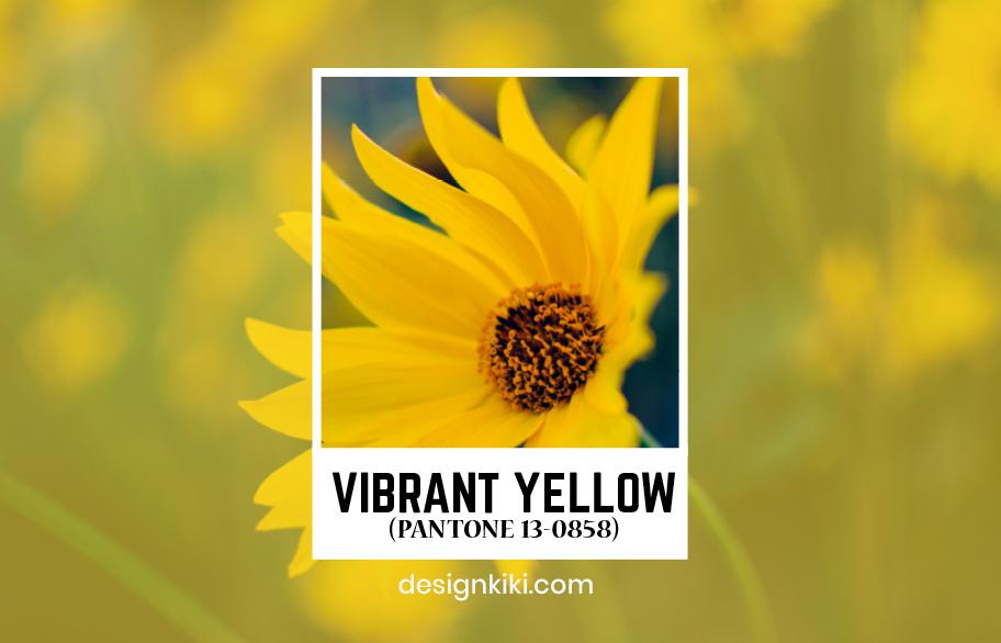 vibrant shade of yellow
