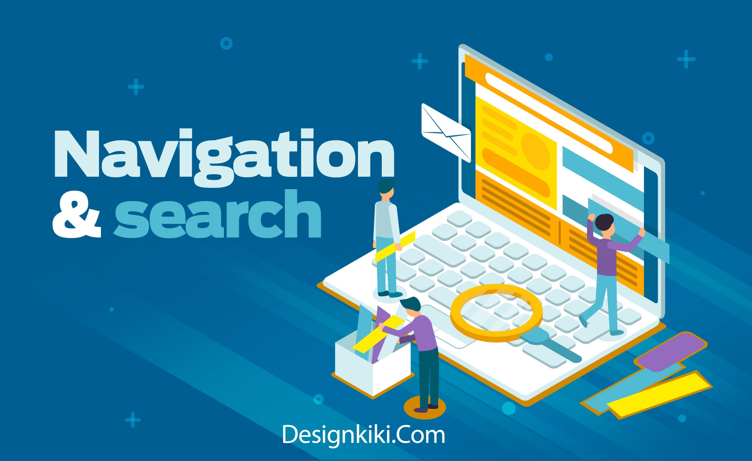 navigation and search tips for your professional website