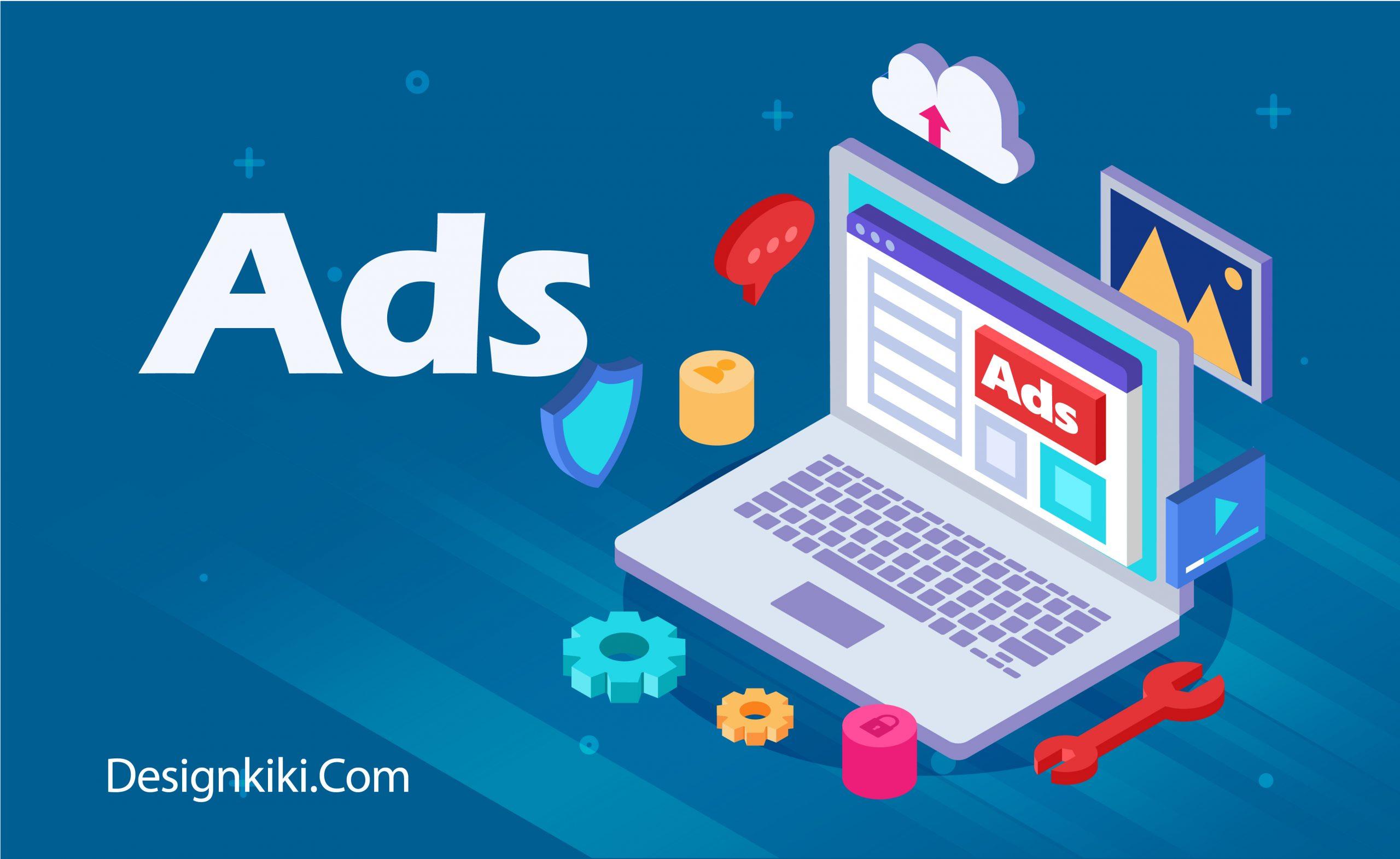 Ads on website