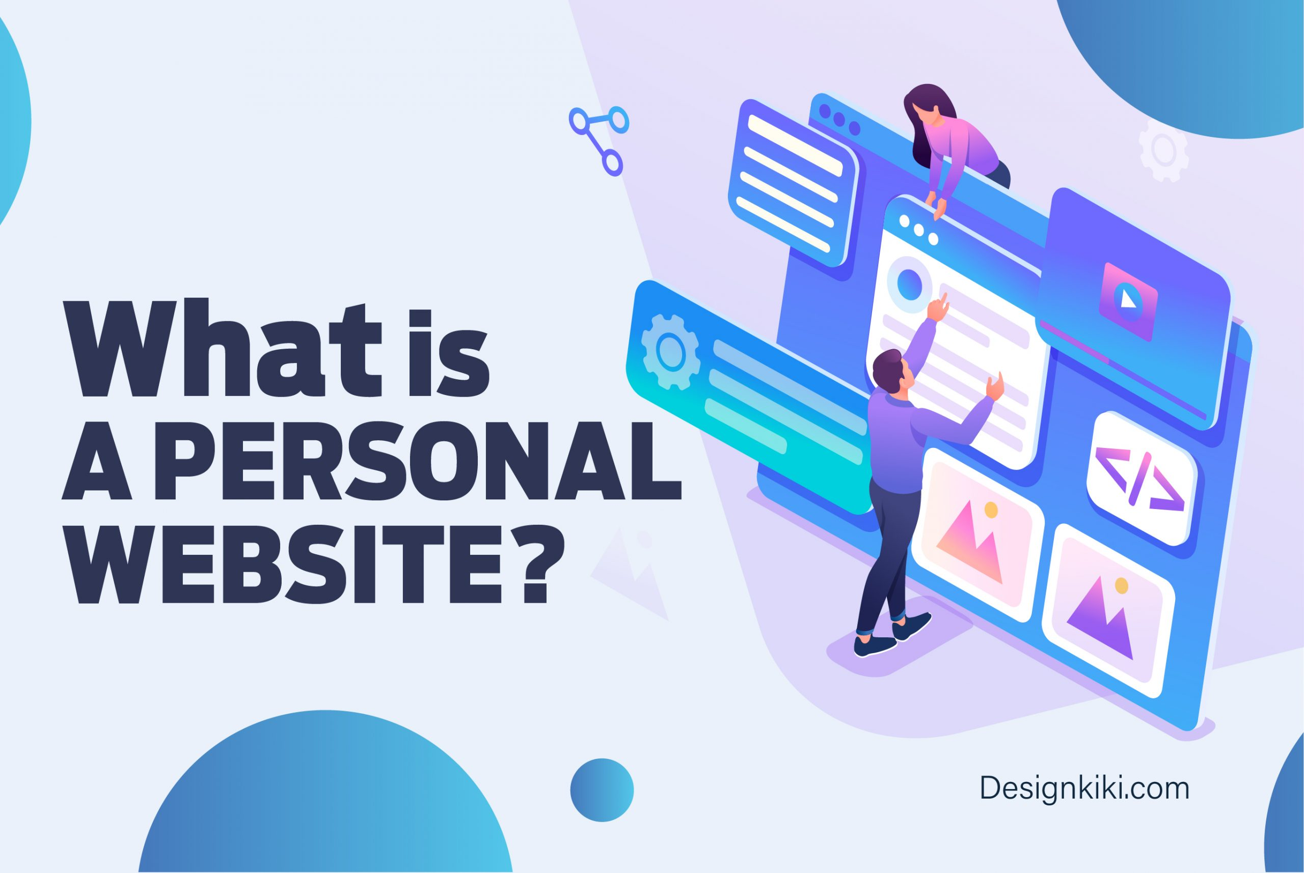 what is a personal website?
