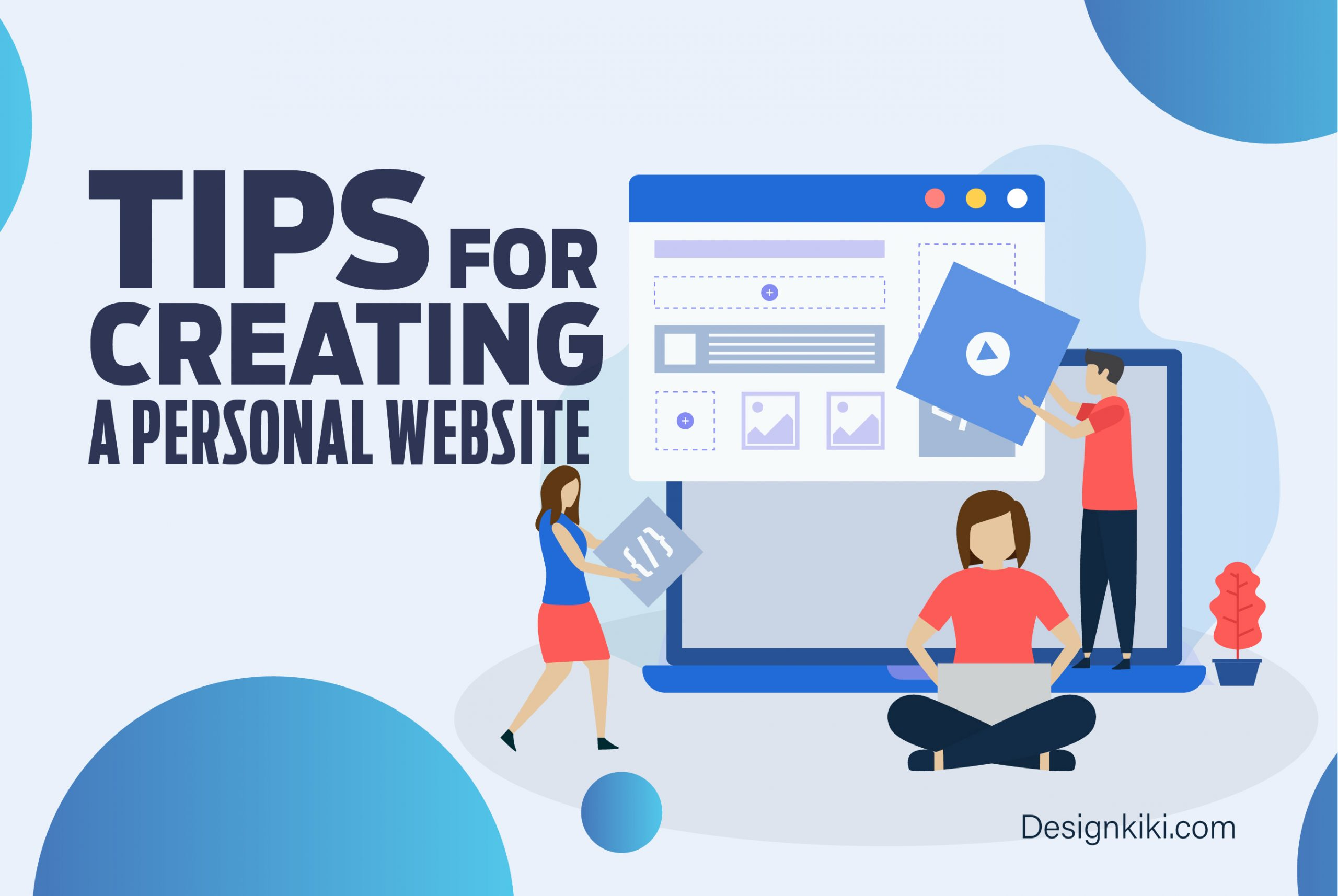 Tips for creating a personal website